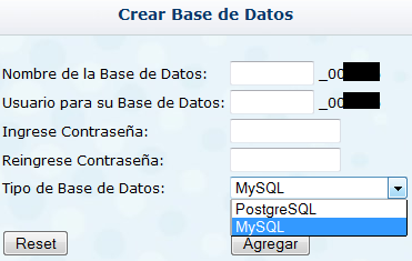 hosting MySQL